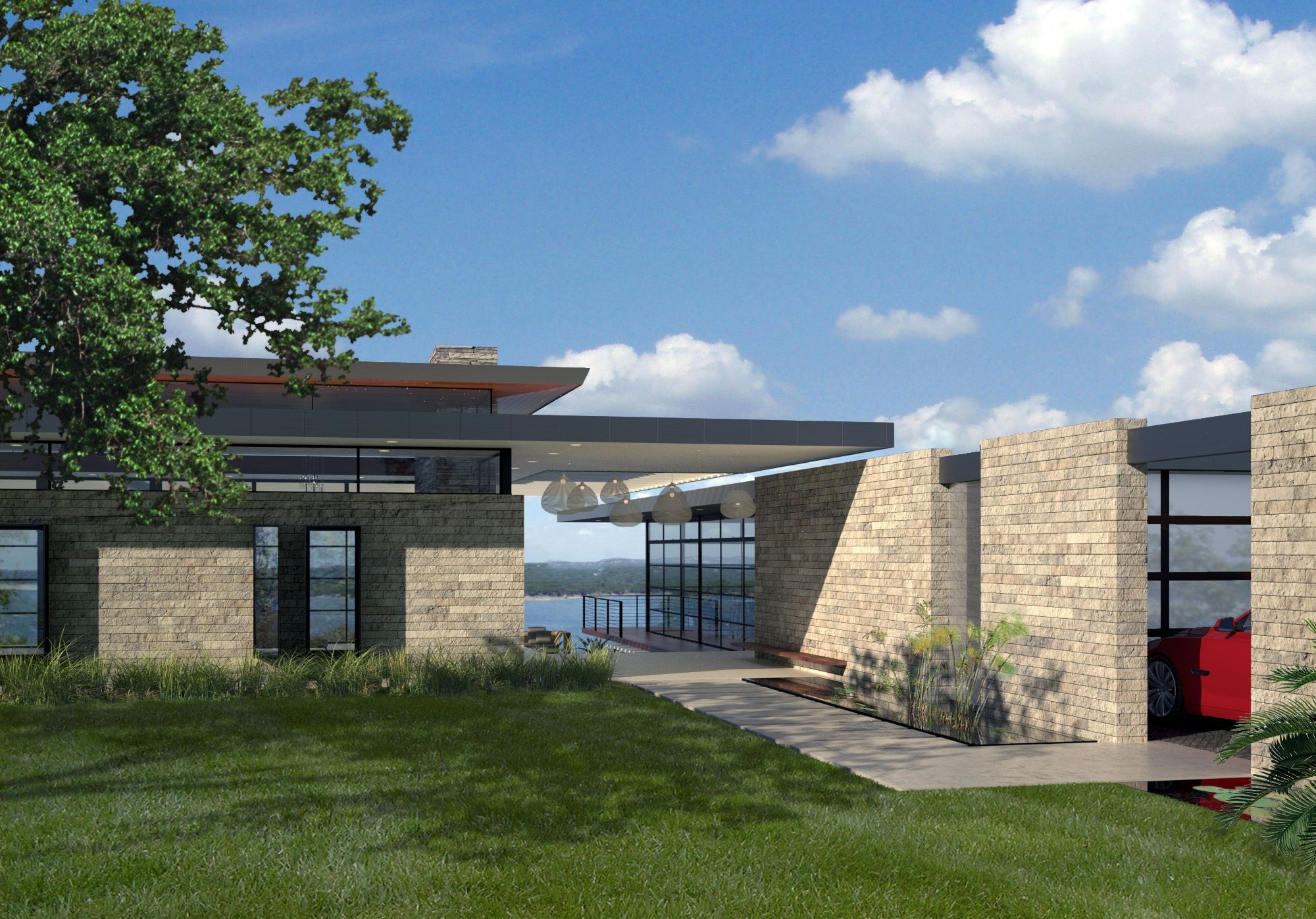 Luxury modern home to be built by foursquare builders for Modern luxury house