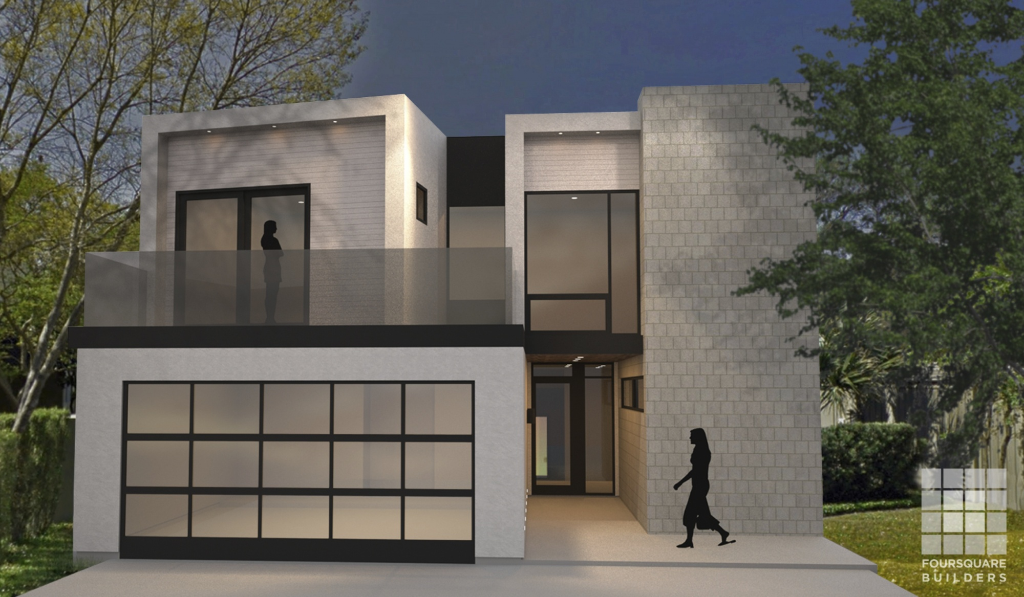 Modern Remodel Addition Along Shoal Creek In Austin Texas - Remodeling contractor austin tx